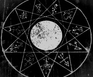 moon, symbols, and witchcraft image