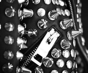 spikes, studs, and jacket image