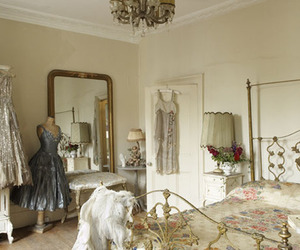 bedroom and dress image