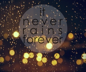 forever, rain, and it image