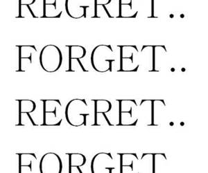 cycle, forget, and regret image