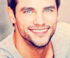 blue eyes, cute, and man image