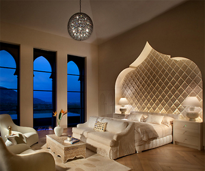 luxury, home, and bedroom image