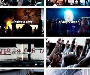 revolution, the hunger games, and song image