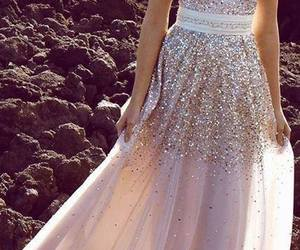 dress and glitter image