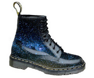 boots, galaxy, and space image