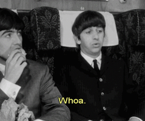 60's, the beatles, and a hard days night image