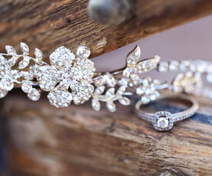 beautiful, ring, and sparkle image