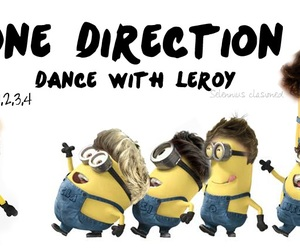 one direction and minions image