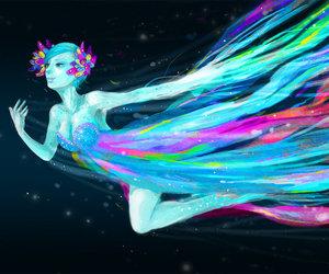 art, Dream, and fairy image