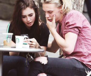 lily collins, Jamie Campbell Bower, and jamie campbell image