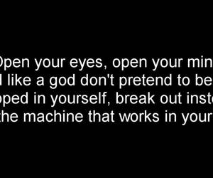 guano apes, open your eyes, and proud like a god image