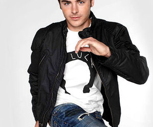 nylon and zac efron image