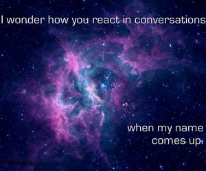 broken heart, text, and universe image