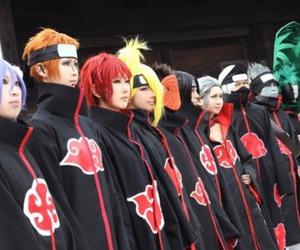 akatsuki, cosplay, and naruto image