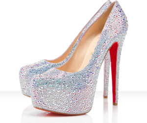 high heels, Hot, and louboutins image