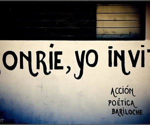 accion poetica, smile, and frases image