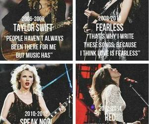 Taylor Swift, red, and fearless image