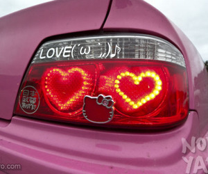 heart, car, and light image