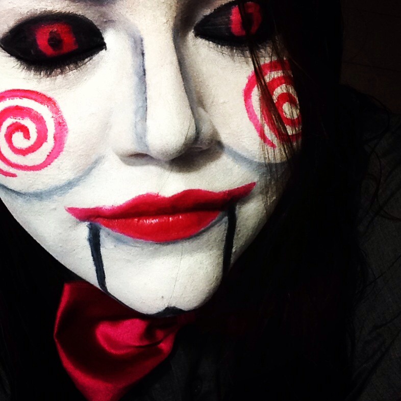 halloween makeup shared by ale loret on we heart it