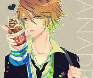 anime, ice cream, and anime boy image