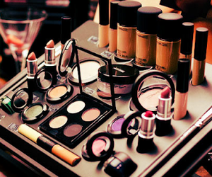 make up, makeup, and mac image