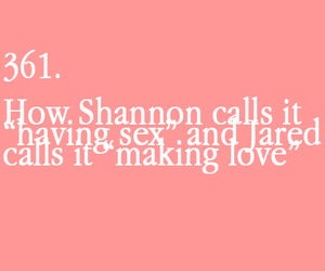 jared leto, shannon leto, and text image