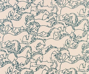 horse and pattern image