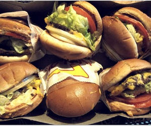bread, burgers, and fast food image