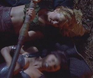 gabrielle, xena, and xena warrior princess image