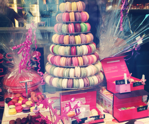 macaroons, macarons, and sweet image