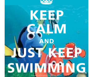keep calm, nemo, and quote image