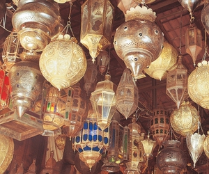 africa, copper, and lamps image