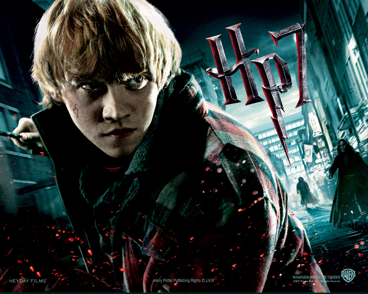 Rony Harry Potter And The Deathly Hallows Harry Potter Wallpaper