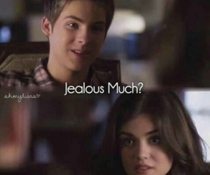 pretty little liars, pll, and jealous image