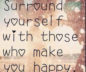 happy, quotes, and friends image