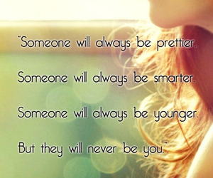quote, you, and girl image