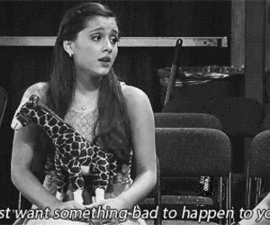 ariana grande, quote, and victorious image