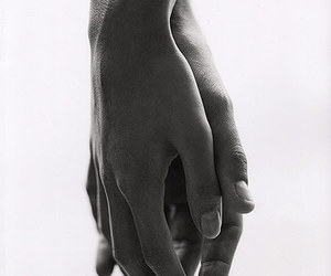 b&w, black and withe, and couple image