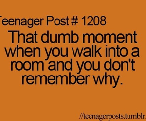 quote, teenager post, and dumb image