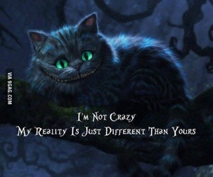 be yourself, reality, and crazy image