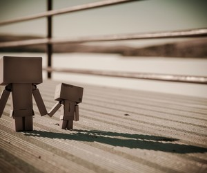 couple, toy, and danbo image