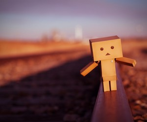 alone, toy, and danbo image