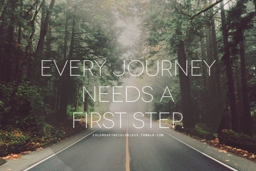journey, road, and step image