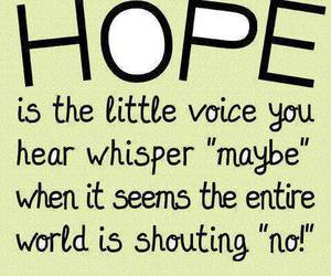 hope, quotes, and life image