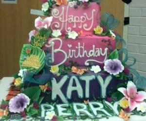 cake, happy birthday, and katy perry image
