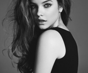 barbara palvin, model, and black and white image
