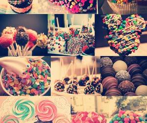 sweet, chocolate, and food image