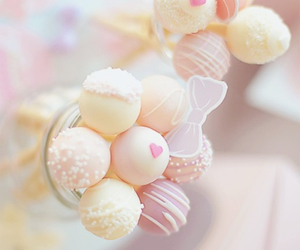 cake, girl, and cake pops image
