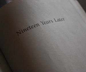 harry potter, book, and nineteen image